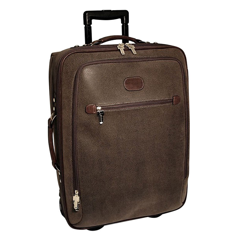 "22"" Wheeled Carry-on with Suiter - Brown"