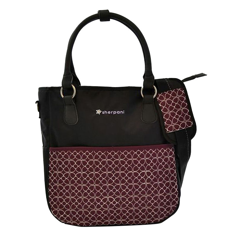 Sojourn LE Travel Tote Bag - Plum/Black