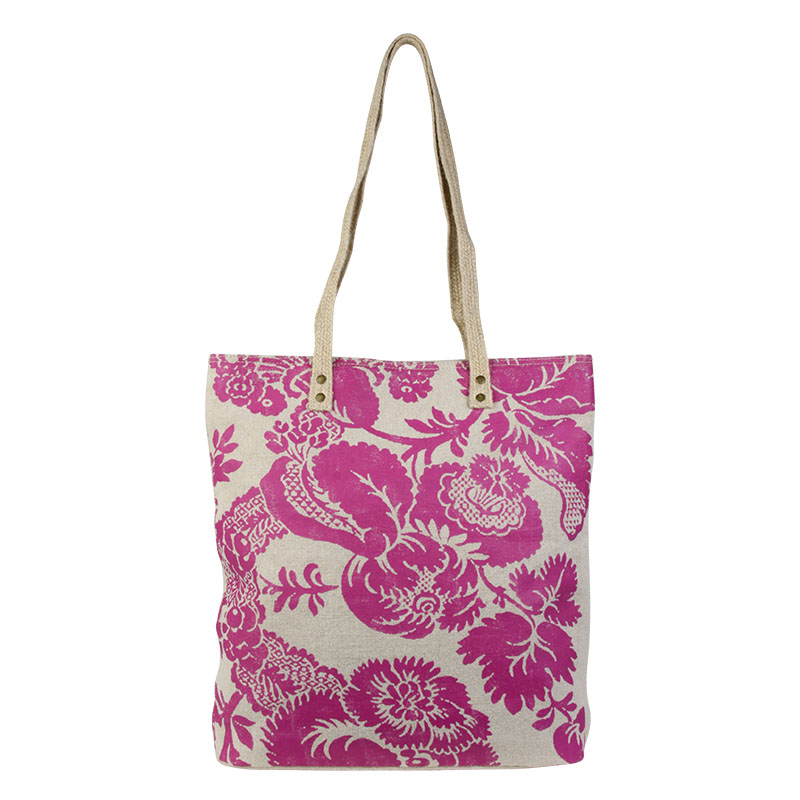 Ginger Tote - Damask Berry
