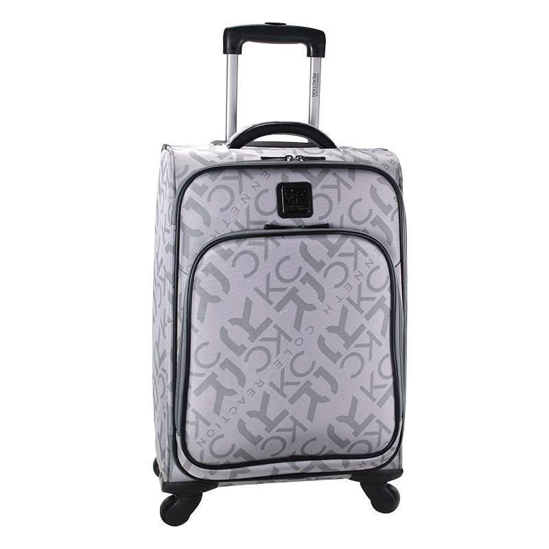 "20"" Soft Sided 4-wheeled Upright Carry-On - Gray"