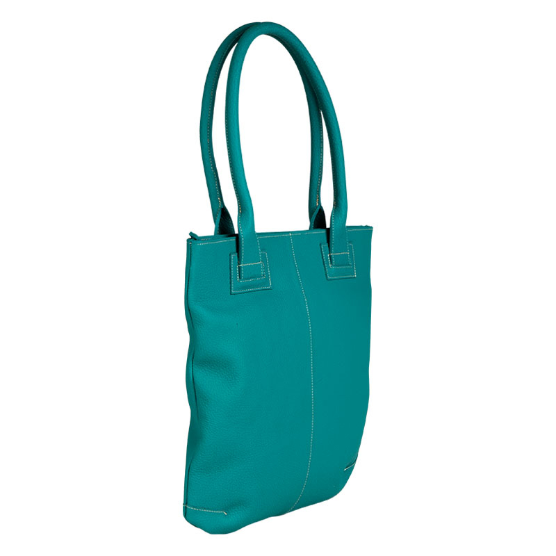 Claire Tote Bag - Turquoise