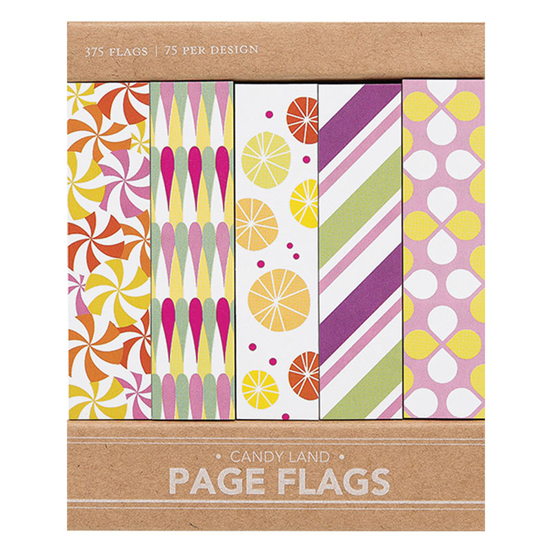 Page Flags - Candy Land