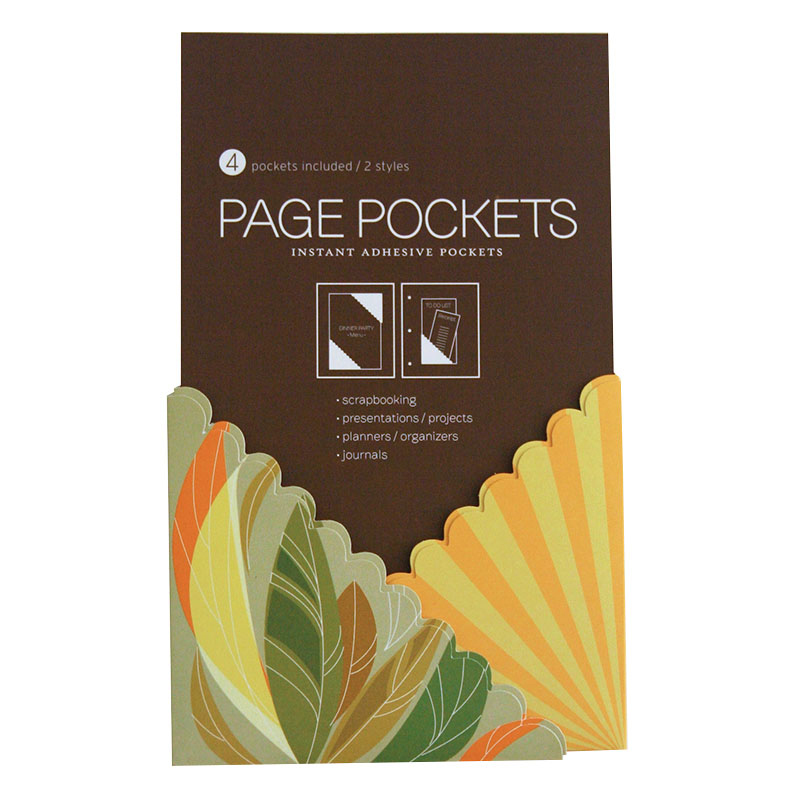 Page Pockets - Tropical Sunset