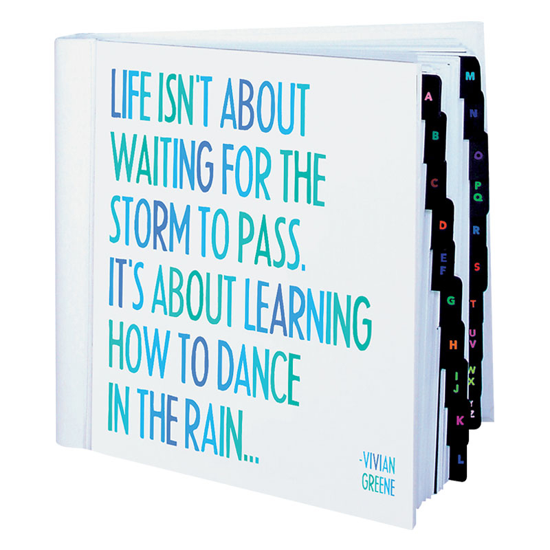 Life Isn'T About Dancing Address Book
