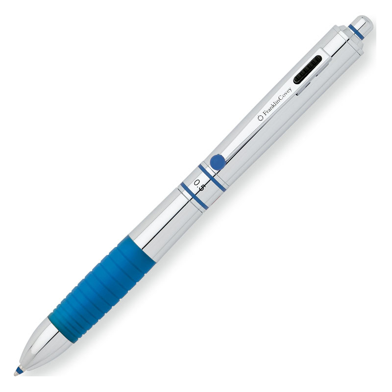 Hinsdale Multi-function Pen by FranklinCovey - Polished Chrome Lacquer