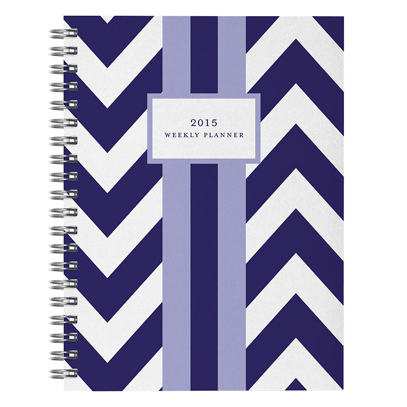 2015 Weekly Planner  - Chevron