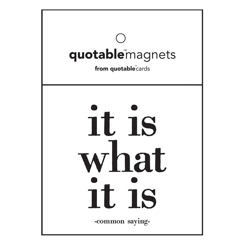 It Is What It Is Magnet