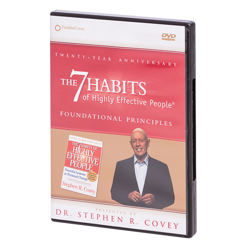7 Habits Foundational Principles (DVD)