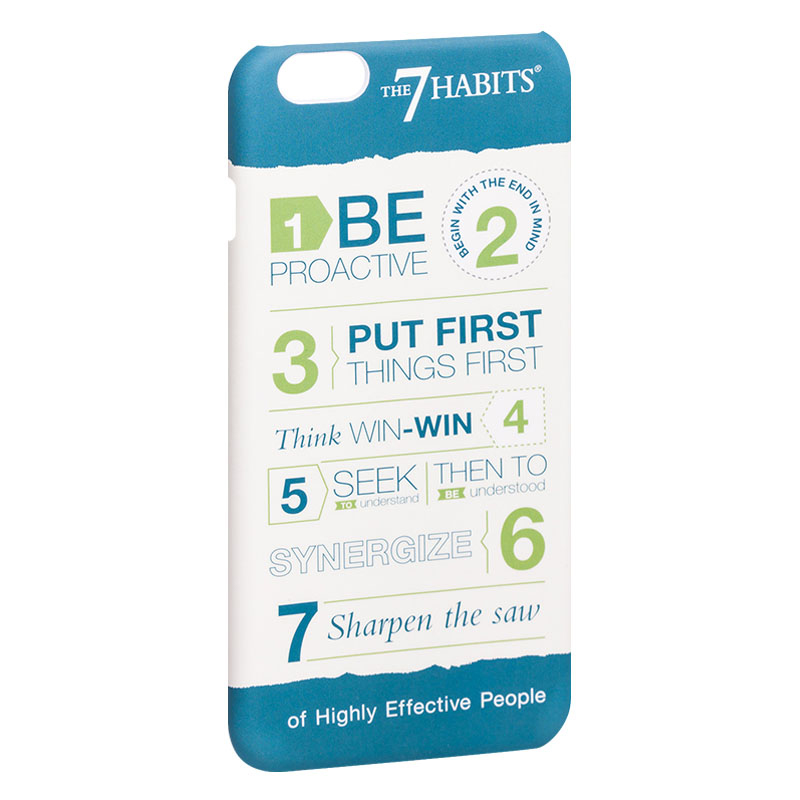 7 Habits Case for iPhone 6