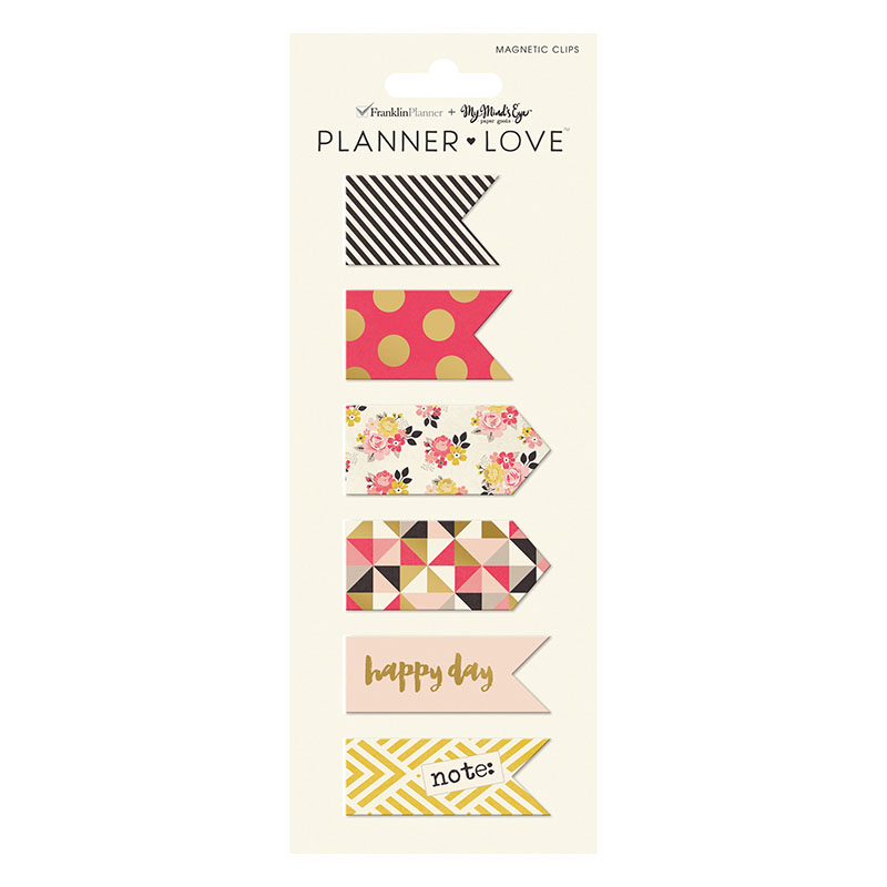 Planner Love Magnet Clips - My Story