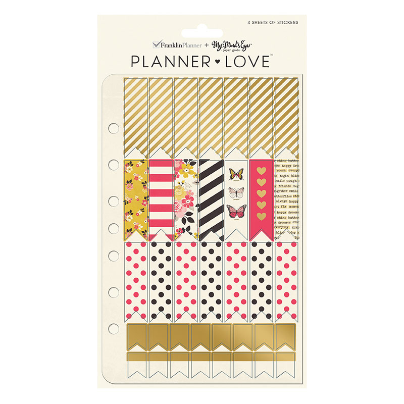 Planner Love Sticker Sheets - My Story