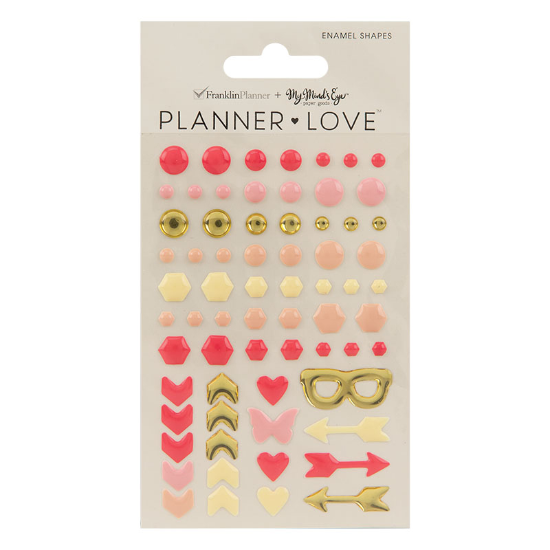 Planner Love Enamel Shapes - My Story