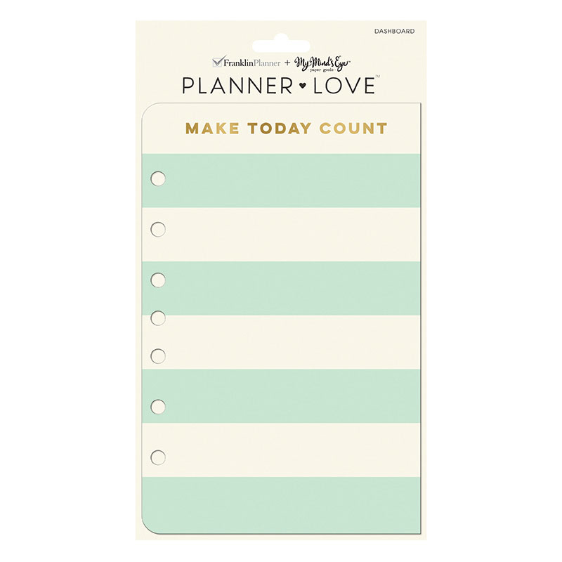 Planner Love Dashboard - Coral