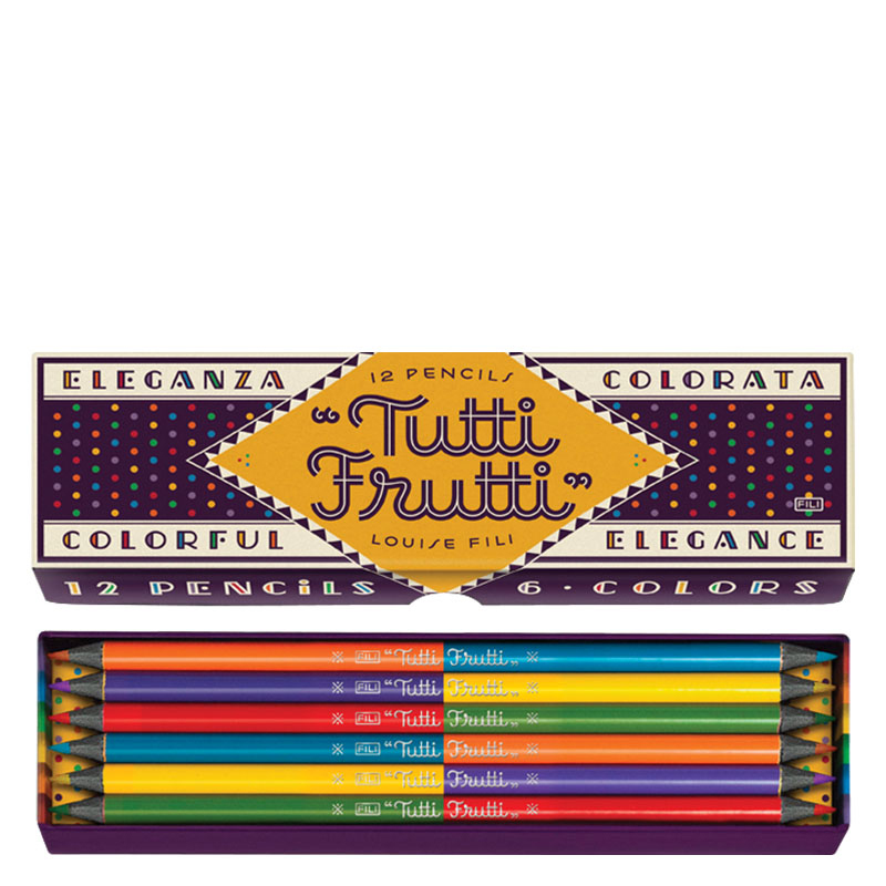 Tutti Frutti Colored Pencils