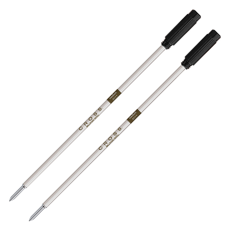 Ballpoint Refill - Dual Pack - Broad Black