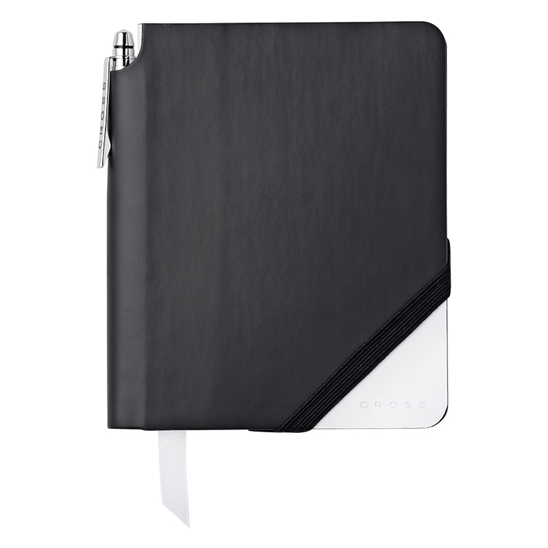 Jotzone Journal Small - Lined - Black/White Personalized