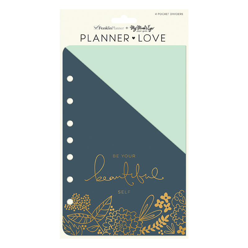 Classic Planner Love Pocket Dividers - On Trend
