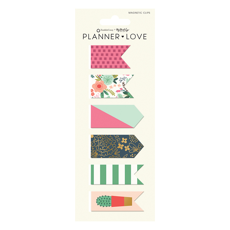 Planner Love Magnet Clips - On Trend
