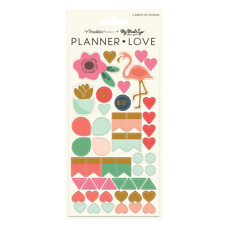 Planner Love Sticker Sheets - On Trend
