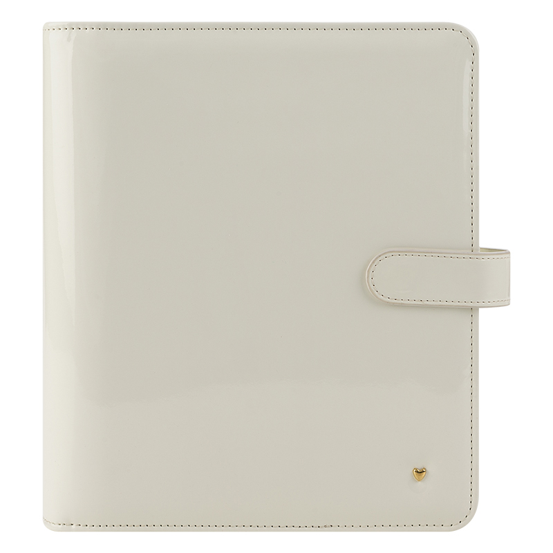 Classic Planner Love Simulated Leather Magnetic Strap - Ivory