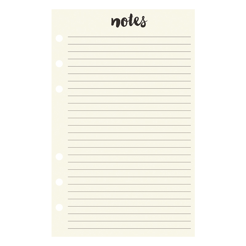 Compact Planner Love Lined Notepad - On Trend