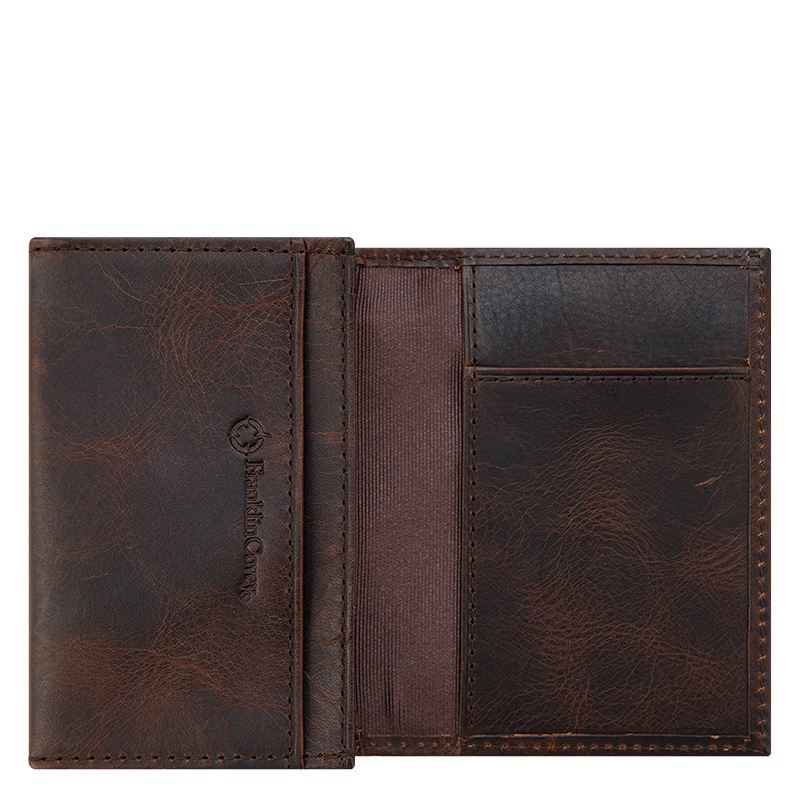 Leather Wallet - Brown