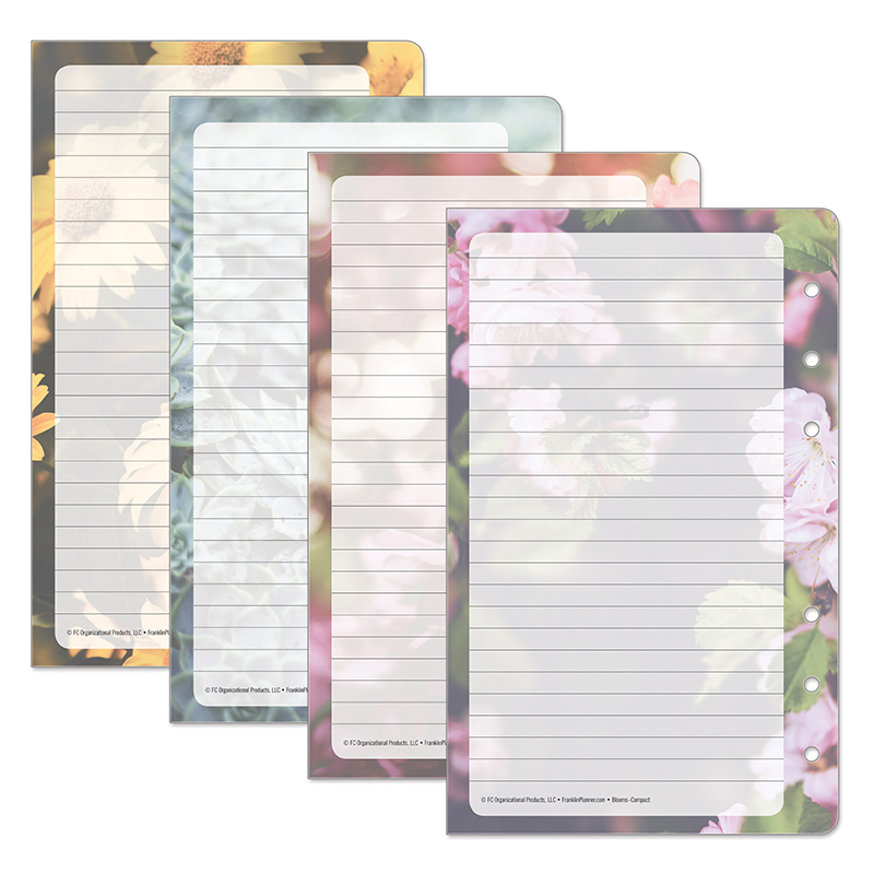Classic Blooms Lined Pages V.4