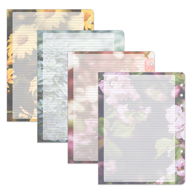 Monarch Blooms Lined Pages V.4