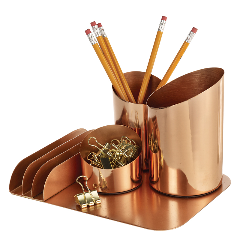 Bainbridge Desktop Organizer - Copper