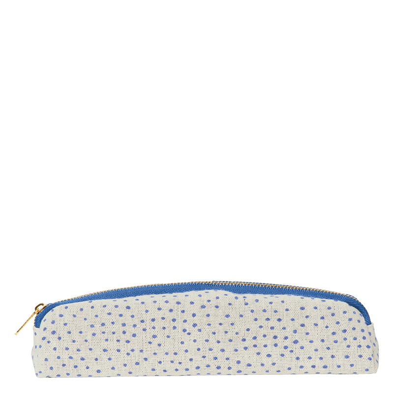 Pen and Pencil Pouch - Polka Dot