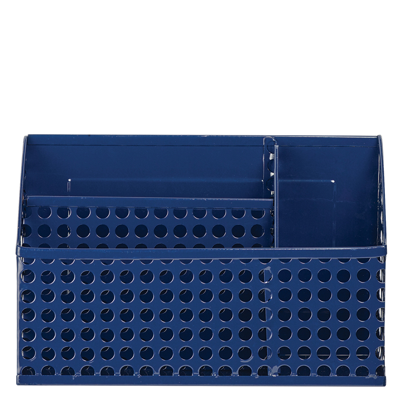 Edison Magnetic Divided Bin - Navy
