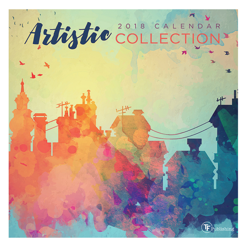 2018 Artistic Collection Wall Calendar - FranklinCovey