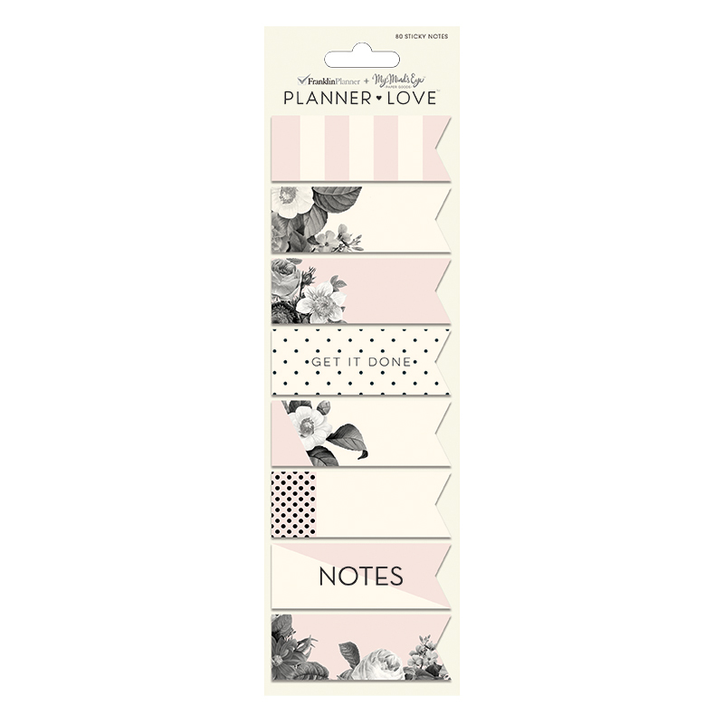 Planner Love Sticky Notes - Blush Florals