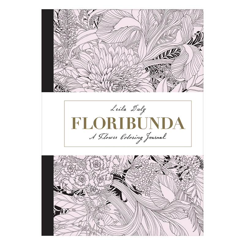Floribunda Coloring Journal