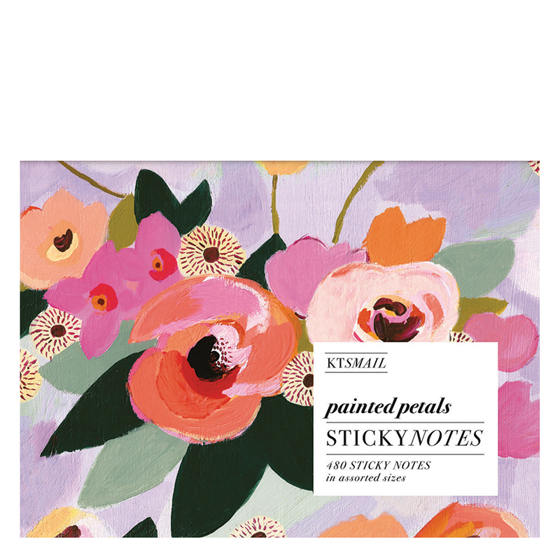 Sticky Notes - Painted Petals