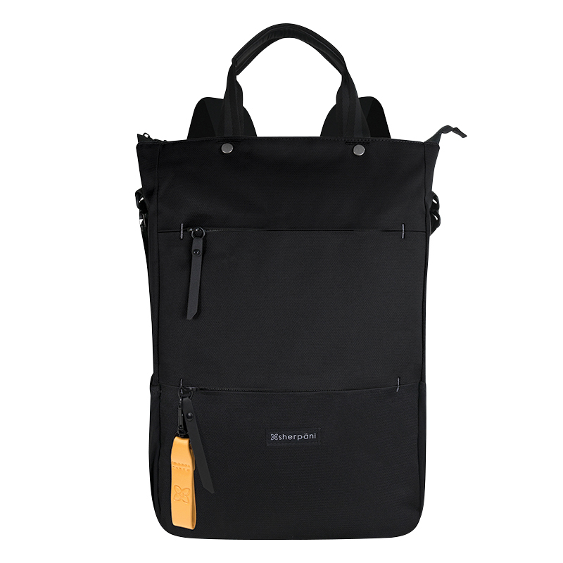 Camden Tote/Backpack/Crossbody - Raven