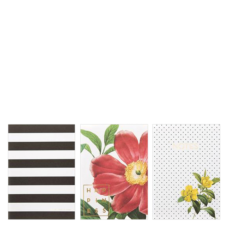 Designer Notebooks 3 Pack - Botanical