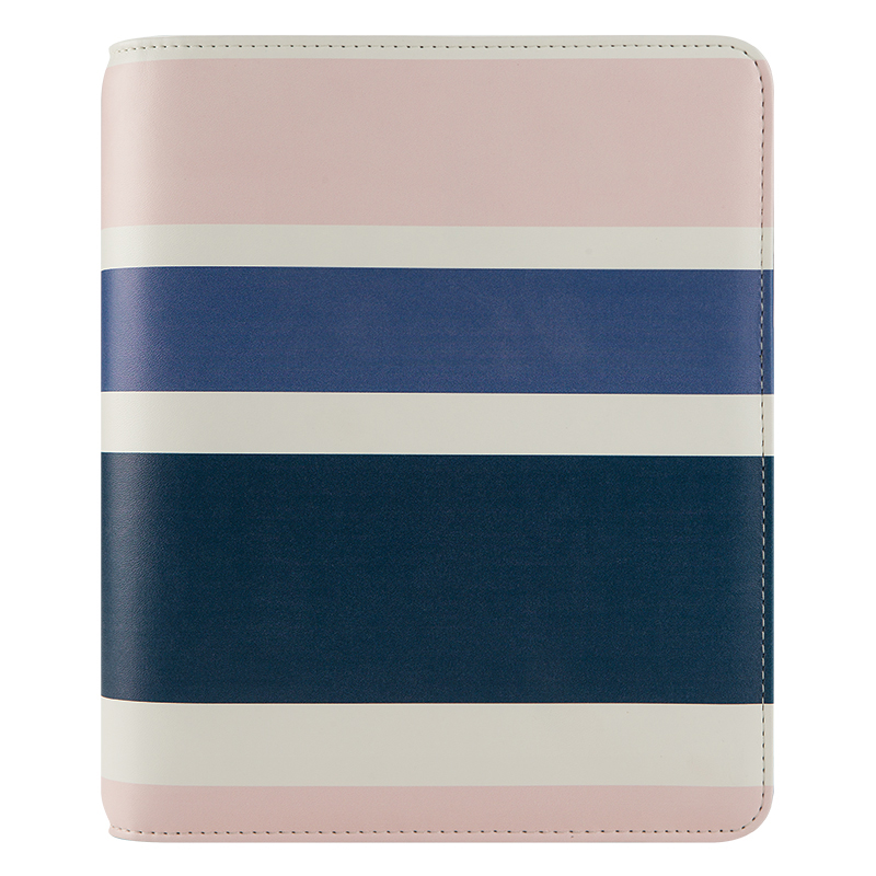 Classic Kate Simulated Open Binder - Striped