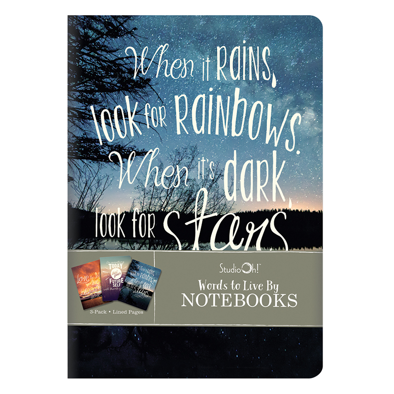 Notebook Trio - Words to Live By