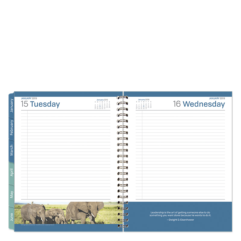 2019 Monthly Planner for Compact Size notebooks by Franklin Covey and Oth.. New