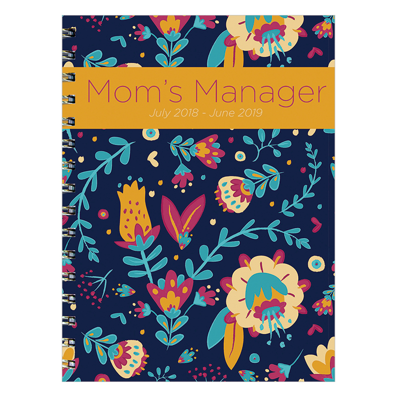 Mom's Manager Medium Weekly/Monthly Academic Year Planner - 2018/2019