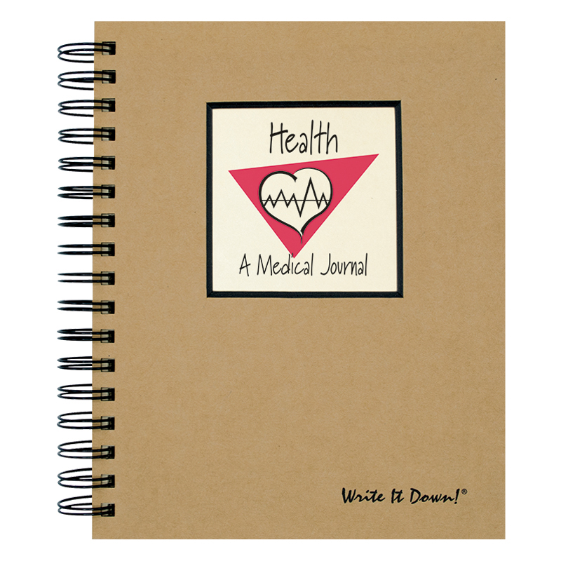 Write It Down Journal - Health