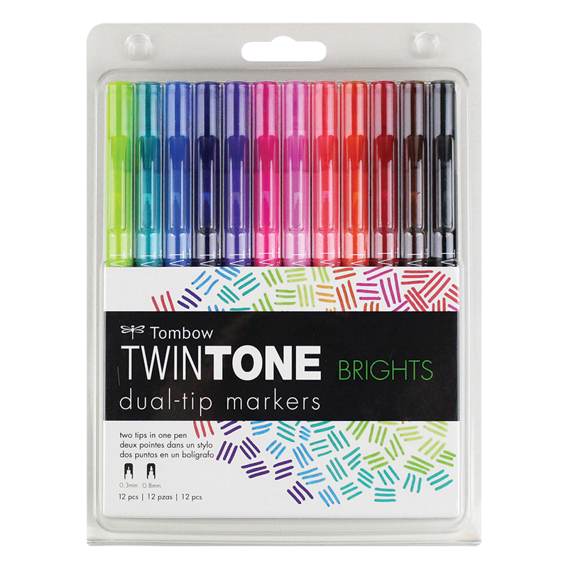 Twintone Markers - Bright