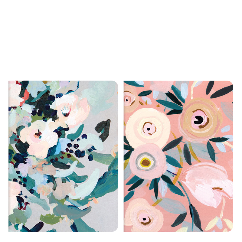 Notebook Set - Painted Petals