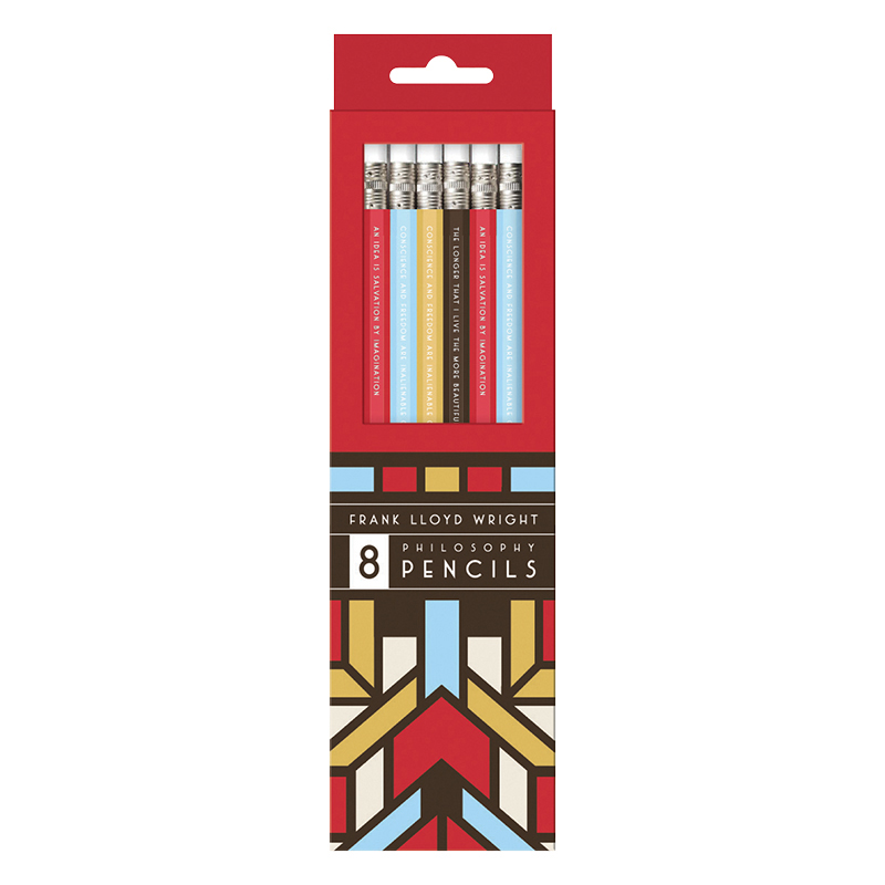 Pencil Set - Frank Lloyd Wright