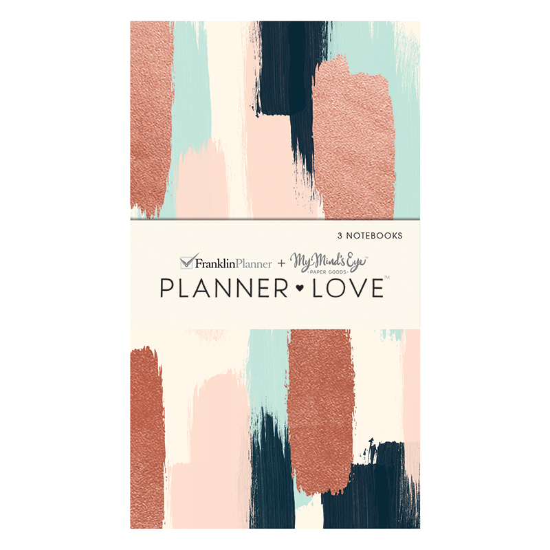 Planner Love Notebooks 3-Pack - Brushed