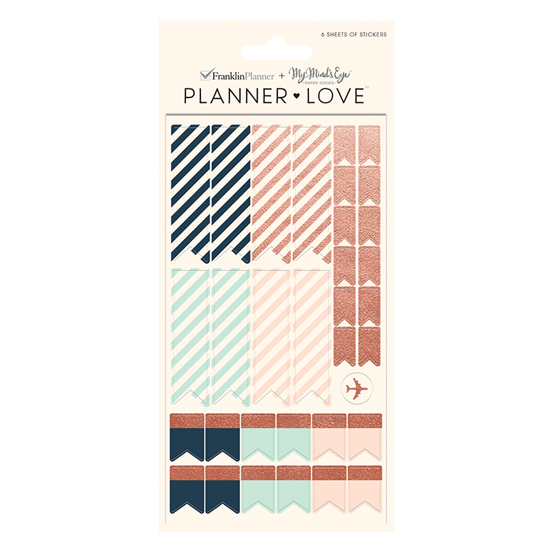 Planner Love Sticker Sheets - Brushed