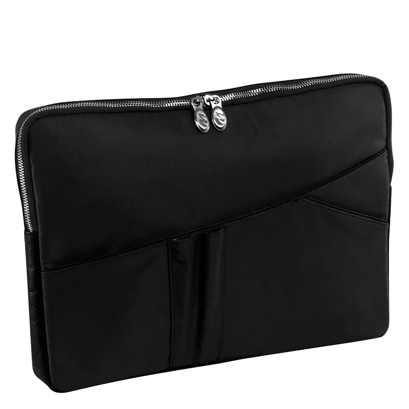 "Auburn Nylon 15"" Laptop Sleeve - Black"