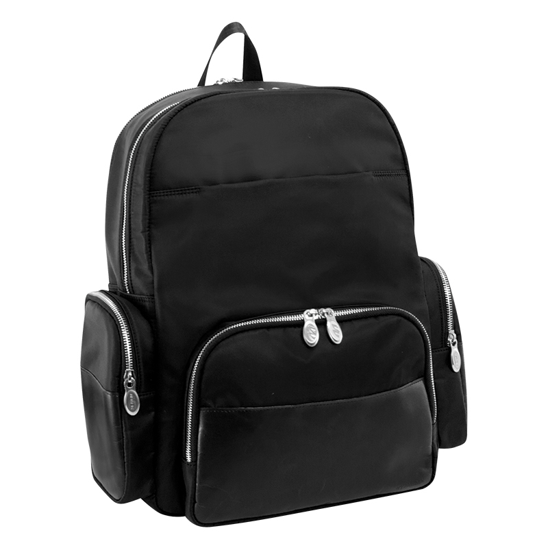 Cumberland Nylon Backpack - Black