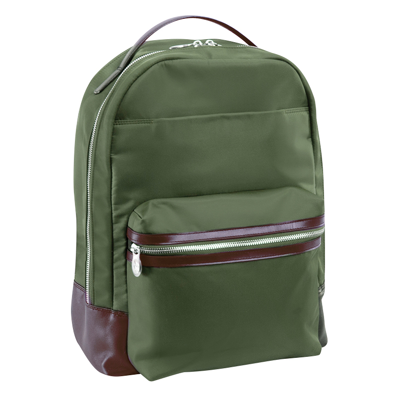 Parker Nylon Backpack - Green